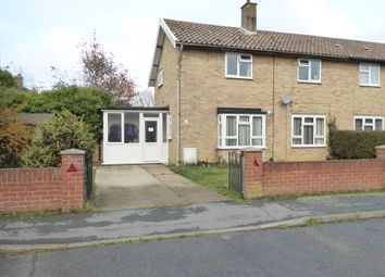 Thumbnail 3 bed semi-detached house for sale in Seaward Avenue, Leiston, Suffolk