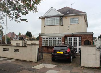Thumbnail 4 bed detached house for sale in Gimson Road, Western Park, Leicester