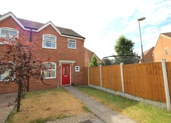 Thumbnail 3 bed semi-detached house for sale in Charles Street, Leabrooks, Alfreton