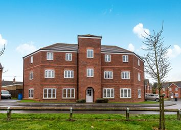 Thumbnail 2 bed flat for sale in Rowan Close, Huntington, Cannock