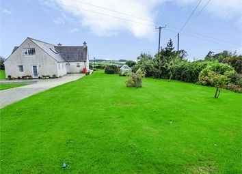 Thumbnail 5 bed detached house for sale in Rhydwyn, Rhydwyn, Church Bay, Holyhead, Anglesey