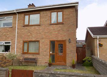 Thumbnail 3 bed semi-detached house for sale in Brooklyn Gardens, Baglan Moors, Port Talbot, Neath Port Talbot.