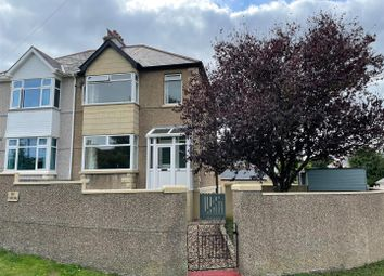 Thumbnail 3 bed semi-detached house for sale in Longfield Villas, Plymstock, Plymouth