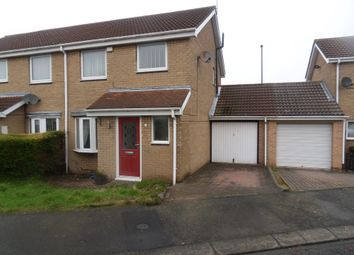 Thumbnail 3 bed semi-detached house to rent in Dereham Court, Westerhope, Newcastle Upon Tyne