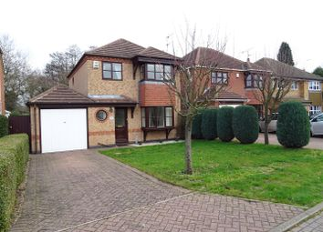 Thumbnail 3 bed detached house for sale in Kingfisher Close, Whitwick, Leicestershire