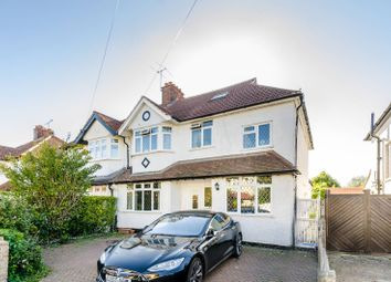 Thumbnail 5 bed semi-detached house for sale in Franks Avenue, New Malden