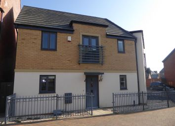 Thumbnail 3 bed semi-detached house to rent in Bayleaf Avenue, Hampton Vale, Peterborough