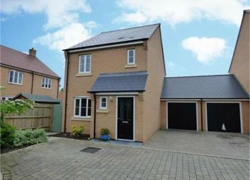 Thumbnail 3 bed link-detached house for sale in Claydon Gardens, Daventry, Northamptonshire
