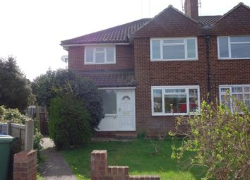Thumbnail 2 bed maisonette to rent in Wilton Gardens, West Molesey