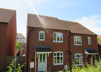Thumbnail 3 bedroom semi-detached house for sale in East Hall Walk, Sittingbourne