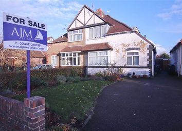 Thumbnail 3 bedroom semi-detached house for sale in Station Road, Drayton, Portsmouth, Hampshire