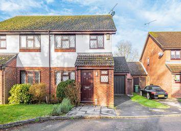 Thumbnail 3 bed semi-detached house for sale in Ash Vale, Aldershot