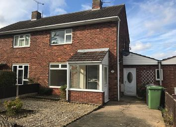 Thumbnail 2 bed semi-detached house to rent in Laughton Way, Lincoln