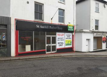 Thumbnail Retail premises to let in 8, Bodmin Road, St Austell