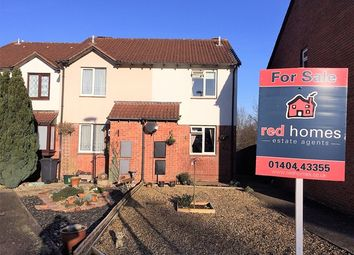 Thumbnail 2 bed end terrace house for sale in Macauley Close, Honiton