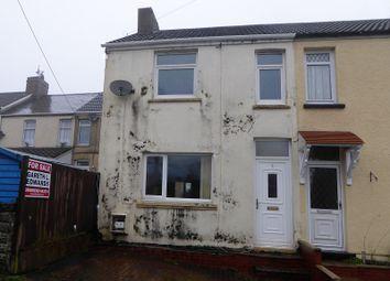 Thumbnail 3 bed end terrace house for sale in Court Terrace, Cefn Cribwr, Bridgend.