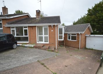 Thumbnail 4 bed bungalow for sale in Grenville Road, Exmouth