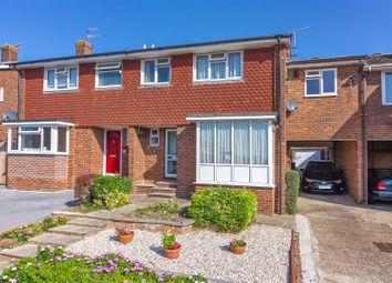 Thumbnail 5 bed semi-detached house for sale in Carisbrooke Close, Lancing