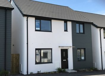 Thumbnail 4 bed semi-detached house for sale in Coscombe Circus, Plymstock, Plymouth