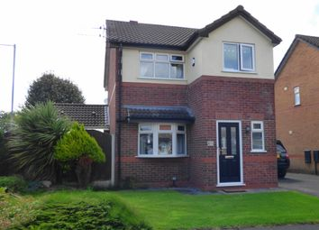 Thumbnail 3 bed detached house for sale in Grantham Crescent, Laffak, St Helens