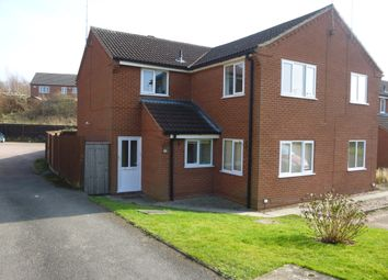 Thumbnail 2 bedroom flat to rent in Vicarage Gardens, Swadlincote