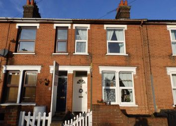 Thumbnail 2 bed terraced house for sale in Hill House Road, Ipswich