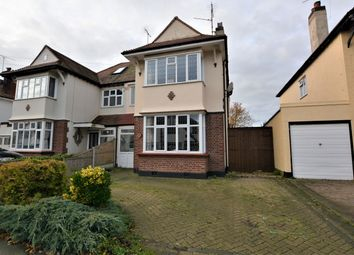 Thumbnail 3 bed semi-detached house for sale in Thurston Avenue, Southend-On-Sea