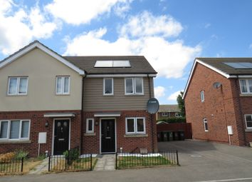 Thumbnail 2 bed semi-detached house for sale in Hooke Close, Corby