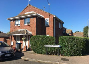 Thumbnail 1 bed terraced house for sale in Roseacre Court, Cliftonville, Margate