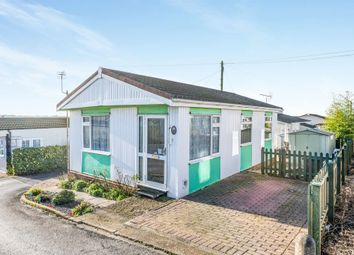 Thumbnail 2 bed mobile/park home for sale in Hill Rise, Horspath, Oxford