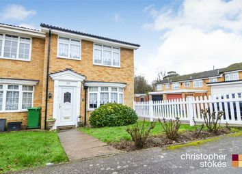 Thumbnail 3 bed end terrace house for sale in Smarts Green, Cheshunt, Waltham Cross, Hertfordshire