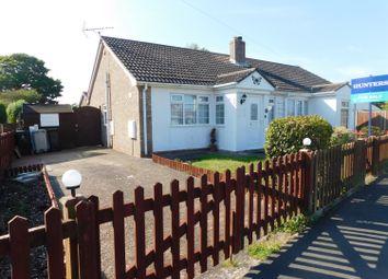 Thumbnail 2 bed semi-detached bungalow for sale in Marine Avenue, Sutton-On-Sea, Lincs.