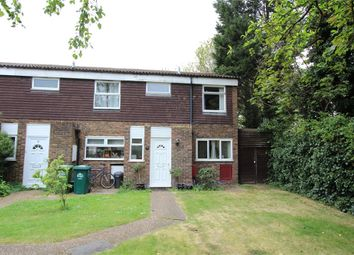 Thumbnail 3 bed end terrace house for sale in Cavendish Close, Sunbury-On-Thames, Surrey