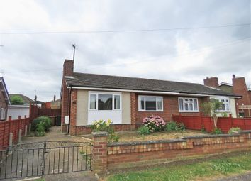 Thumbnail 2 bed semi-detached bungalow for sale in Cedar Way, Wellingborough