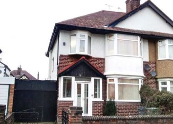 Thumbnail 3 bed semi-detached house to rent in Vyner Road, Wallasey