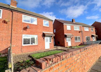 Thumbnail 3 bedroom semi-detached house for sale in Stakeford Crescent, Stakeford, Choppington