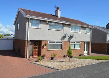 Thumbnail 3 bed semi-detached house for sale in Loch Park Avenue, Carluke