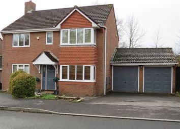 Thumbnail 4 bed detached house for sale in Rufus Close, Rownhams, Southampton