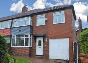 Thumbnail 4 bed semi-detached house for sale in Agecroft Road West, Prestwich