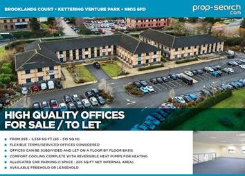 Office for sale in 8, Brooklands Court, Kettering Venture Park, Kettering, Northamptonshire NN15