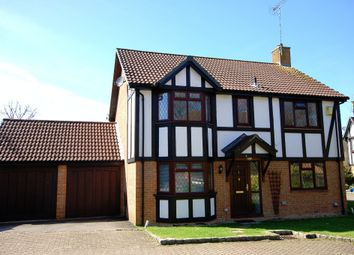 Thumbnail 4 bed detached house for sale in Shire Close, Bagshot