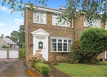 Thumbnail 3 bed end terrace house for sale in Manor Crescent, Pool In Wharfedale