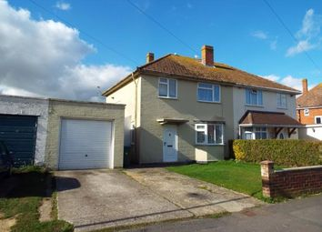 Thumbnail 3 bed semi-detached house for sale in Anson Road, Bognor Regis, West Sussex