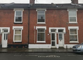 Thumbnail 3 bed terraced house to rent in Newcome Road, Portsmouth