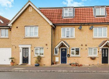 Thumbnail 4 bed terraced house for sale in Parker Close, Eynesbury, St. Neots