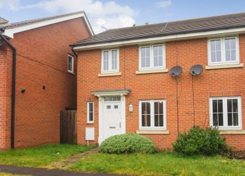 Thumbnail 3 bed semi-detached house for sale in Sanderling Way, Mansfield