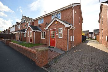 Thumbnail 2 bed mews house to rent in St Andrews Court, Atholl Avenue, Crewe