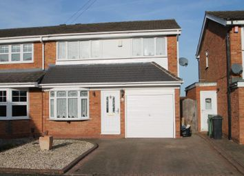 Thumbnail 3 bed semi-detached house to rent in Moray Close, Halesowen, West Midlands