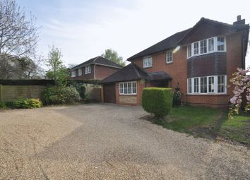 Thumbnail 4 bed detached house for sale in Gally Hill Road, Church Crookham, Fleet