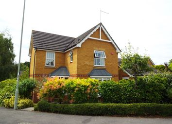 Thumbnail 3 bed detached house for sale in Brandon Road, Church Crookham, Fleet